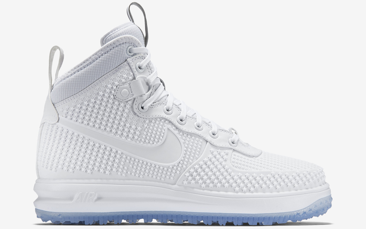 timeless design 314d0 ac6ad White on whites for the bad weather. By Brendan Dunne. Nov 30, 2015. share  tweet. 0. Nike Lunar Force 1 Duckboot White