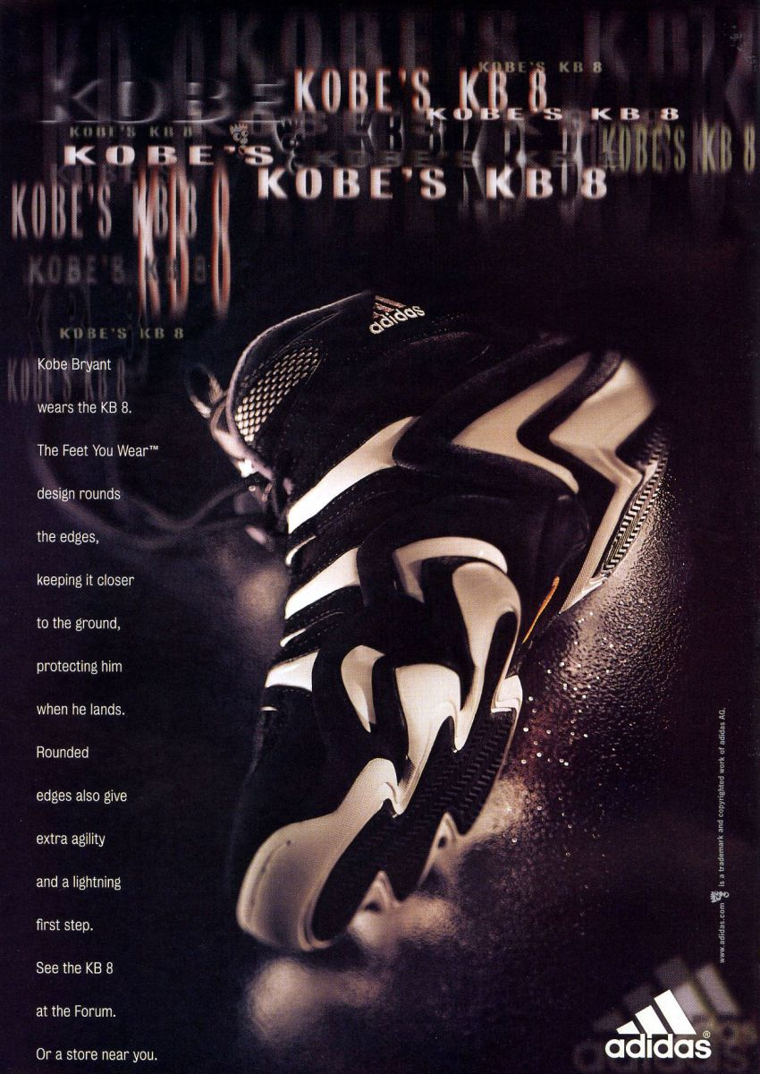 Vintage Ad: Kobe Bryant and the adidas KB 8 | Sole Collector