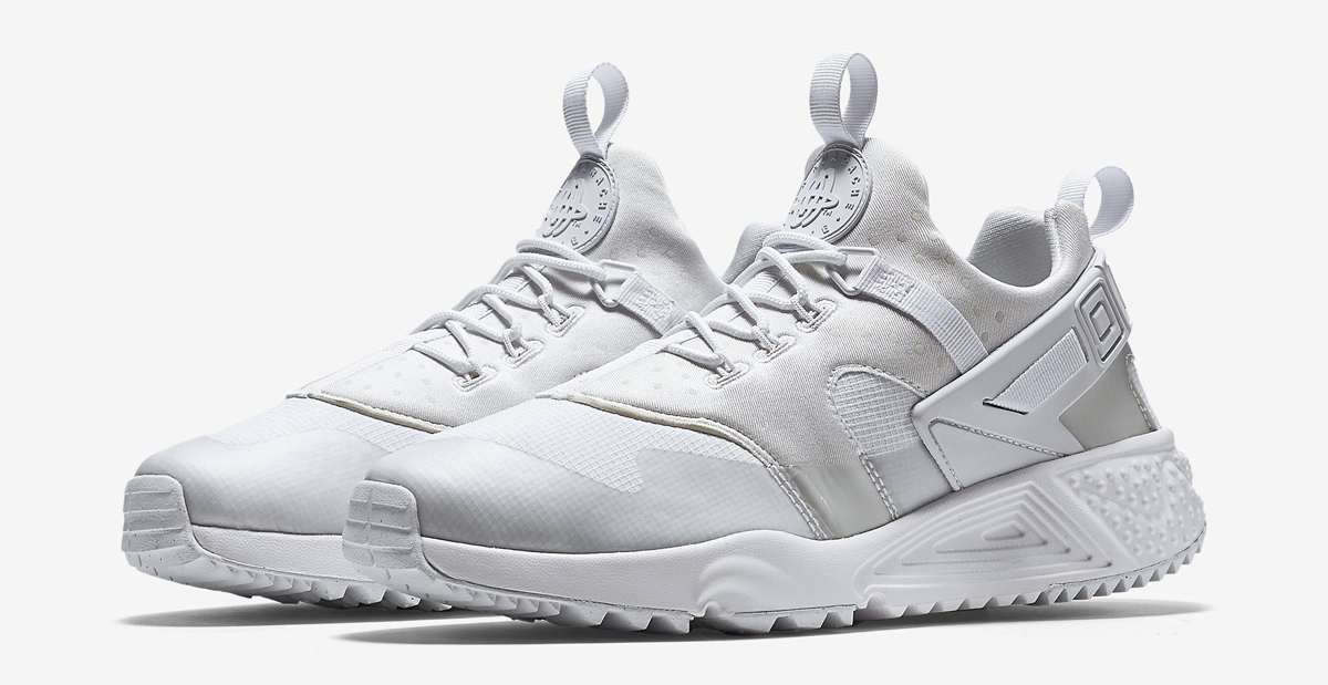 on sale 9b44a f9f33 White Nike Huarache Utility