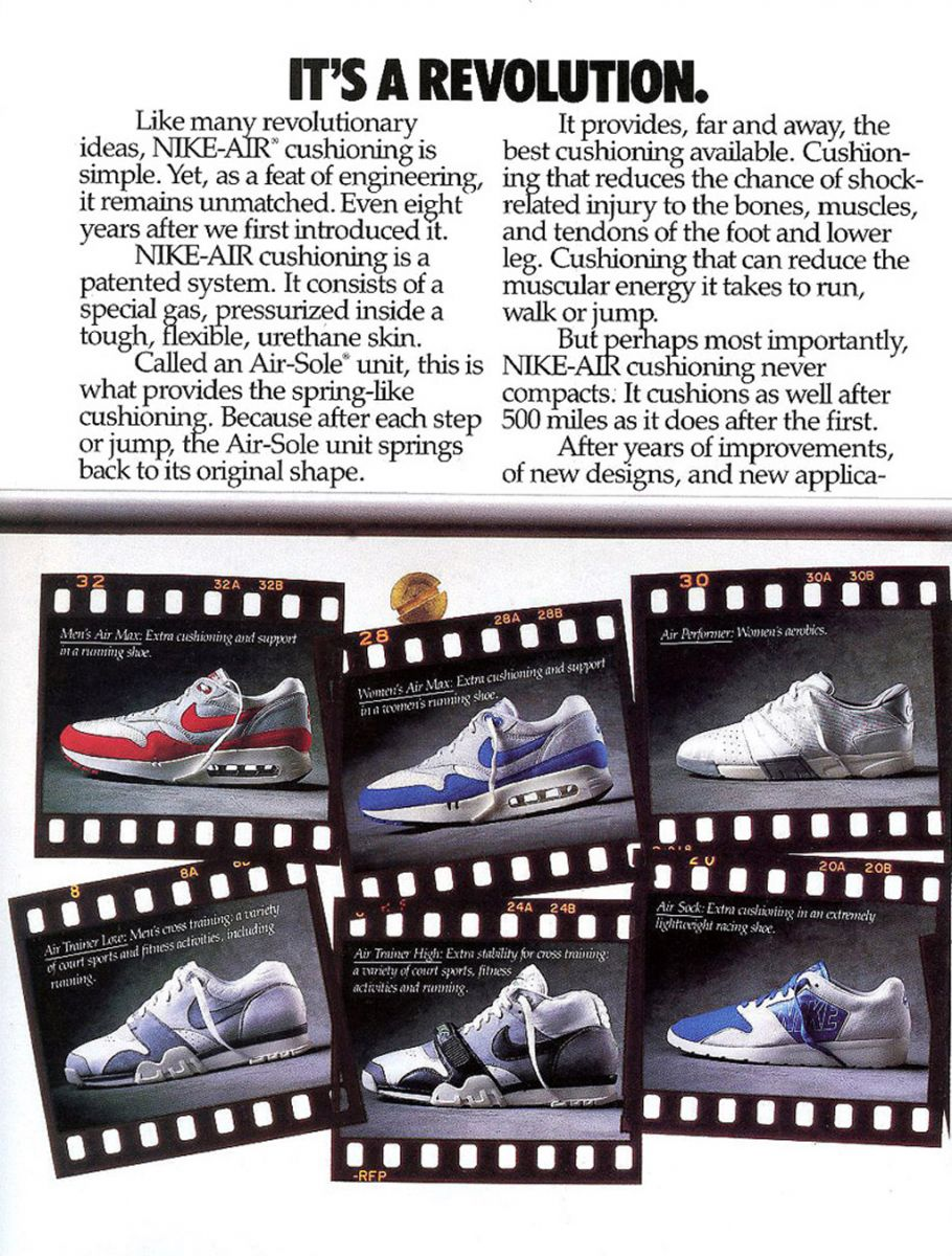This Is How Nike Promoted Air Max Back In The 80s Sole Collector