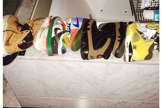 Wale Picks Up Nikes & Air Jordans