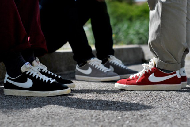 nike blazer low cut