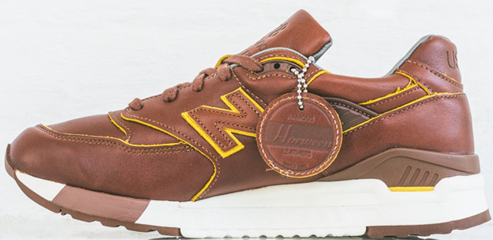 New Balance 998 Brown/Yellow
