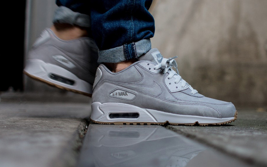 the best attitude 0ea6b 91836 Nike Air Max 90 Winter PRM Color Medium GreyMedium Grey-Neutral Grey  Style  683282-005