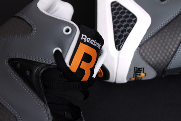 Reebok Kamikaze III - Black/Grey/Orange 4