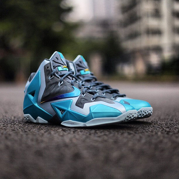 super popular 28494 94bd3 Nike LeBron XI 11 Armory Slate Gamma Blue Light Armory Blue 616175-401  Release Date