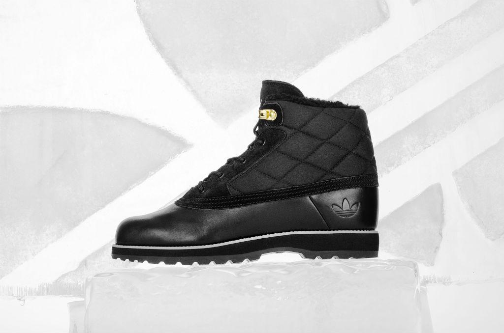 adidas Originals Winter Ball & Navvy Quilt Boots Fall