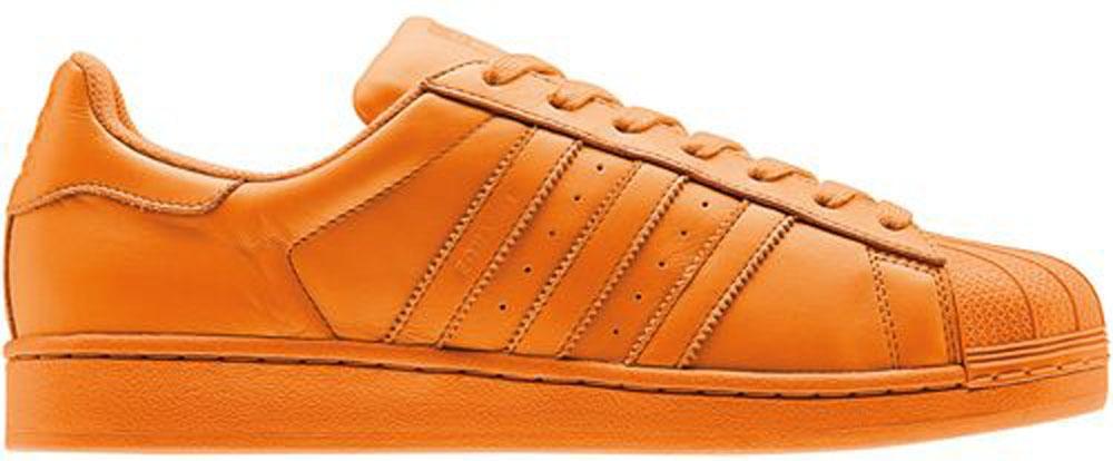 adidas Superstar Bright Orange/Bright Orange-Bright Orange
