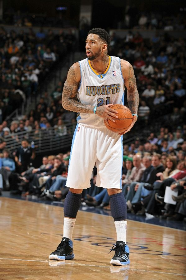 Wilson Chandler wearing the adidas adiZero Infiltrate
