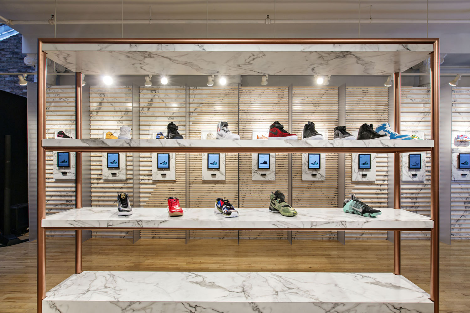 Appointment-Only All-Star Sneaker Store