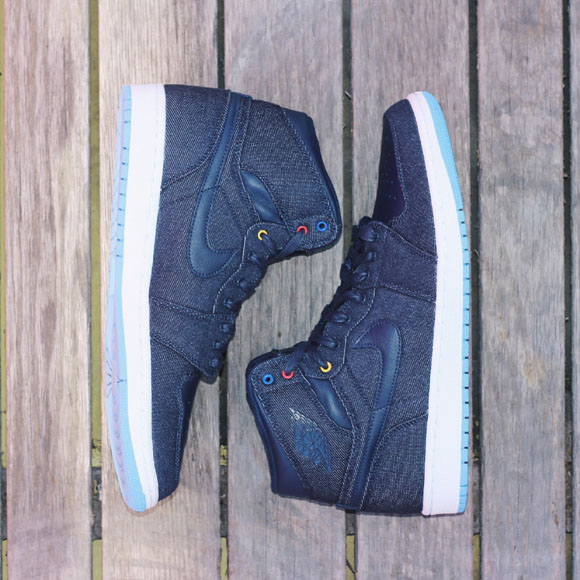 Air Jordan I 1 High OG Family Forever Denim 682781-415 (10)