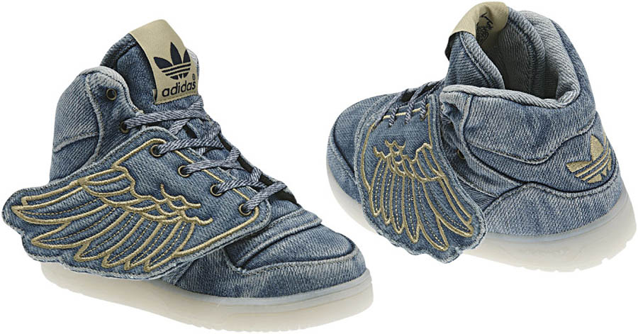adidas js wings denim for sale