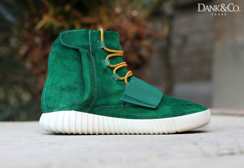 adidas Yeezy 750 Boost Green Moss Custom (1)