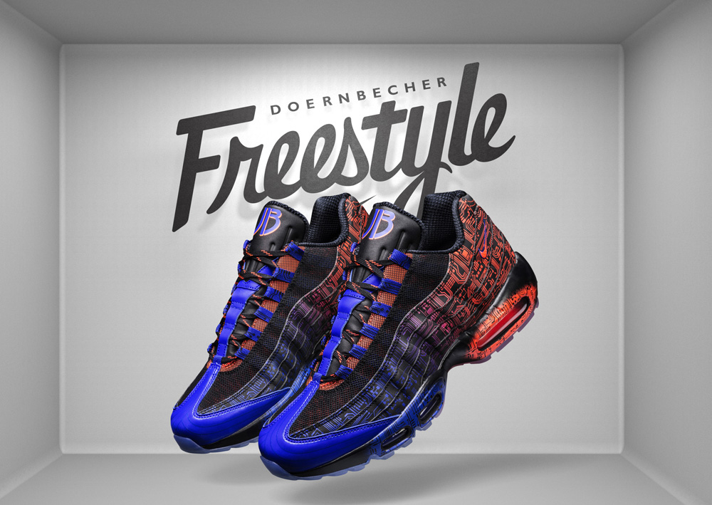 half off 5c7b6 cac65 Nike Air Max 95 Doernbecher by Jacob Burris