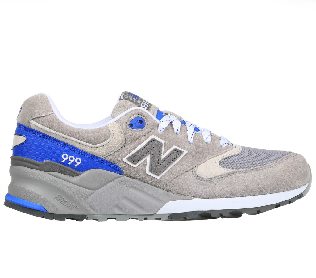 more photos 1da1f 188d9 ... accented with royal blue, including on the ripstop nylon heel panel and  striped laces. Look for a pair now at your favorite New Balance retailer,  ...