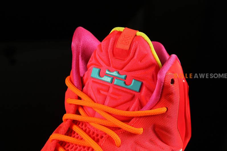 7fff0cd7e708b Nike LeBron XI GS - Bright Red