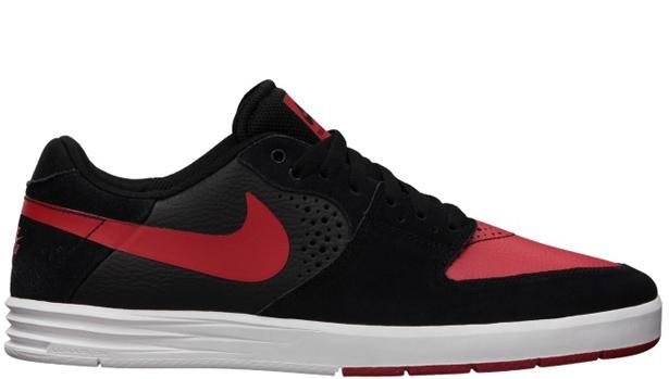 Nike Paul Rodriguez 7 SB Black/University Red-White