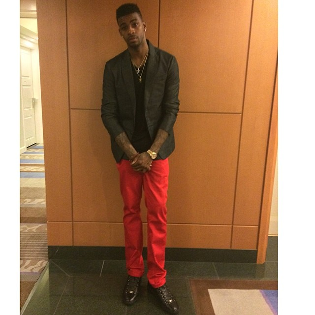 Dorell Wright wearing Balenciaga Arena Black