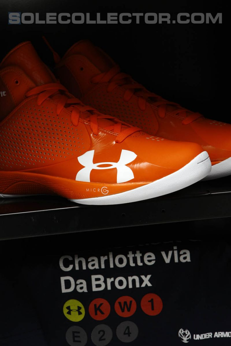 Under Armour Unveils 2011-2012 Basketball Footwear in New York City 11