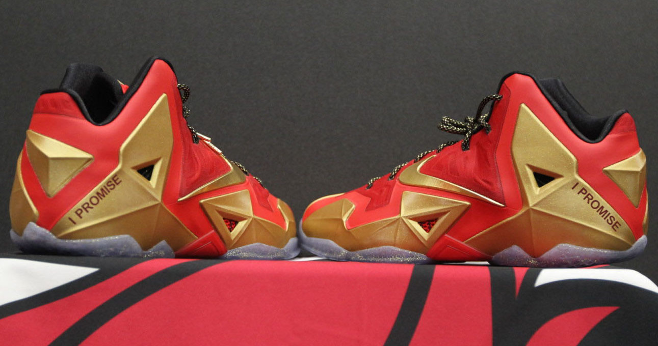 Nike LeBron 11 XI 'Ring Night' PE (1)