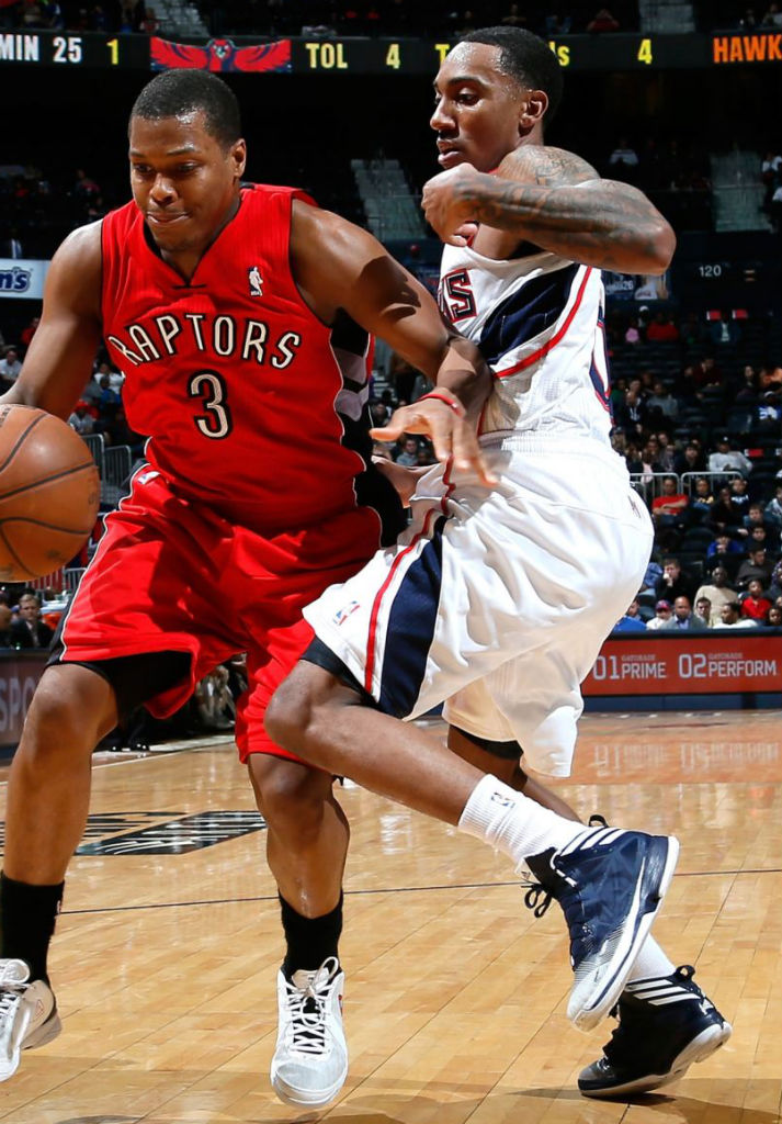 Jeff Teague wearing adidas Crazy Fast