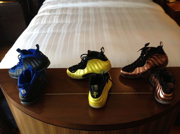Penny Hardaway's Nike Air Foamposite One Collection (4)