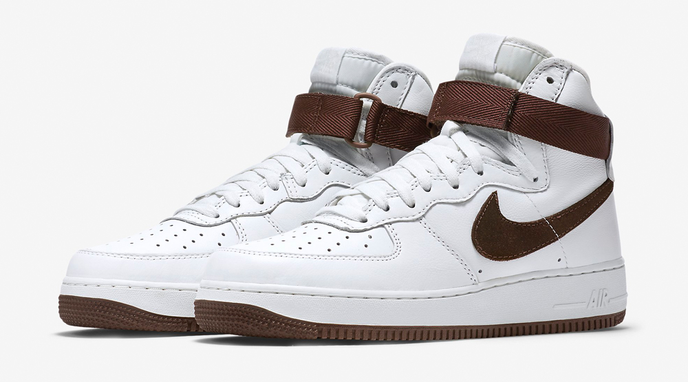 innovative design a5a97 2b49d Nike Air Force 1 High Chocolate