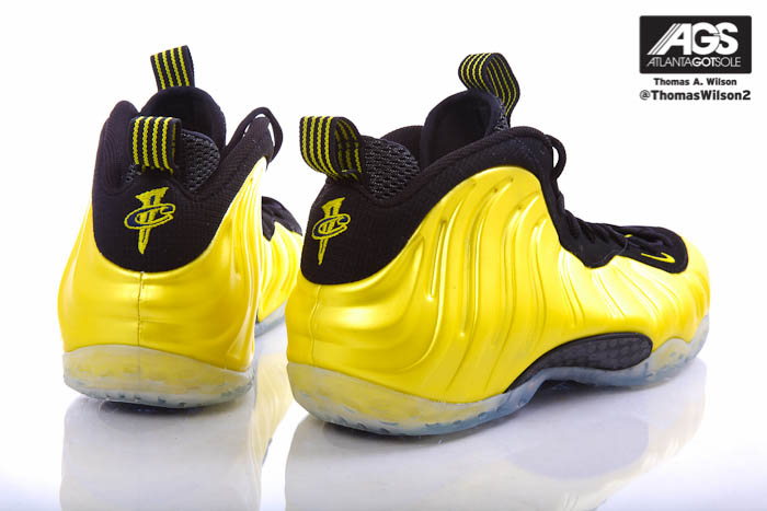 b15e68afeaa Nike Air Foamposite One Shoes Electrolime Golden State 314996-330 (5)