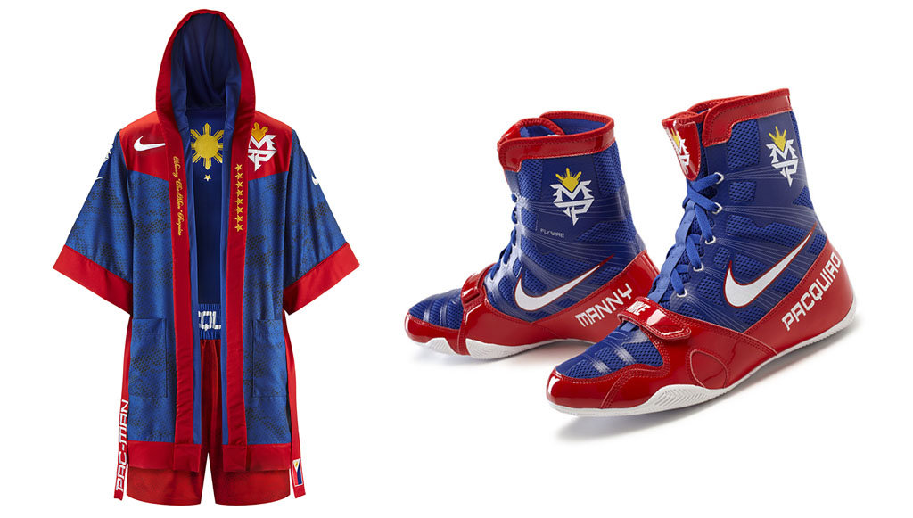 Nike Unveils Manny Pacquiao s June 9 Fight Night Gear   Sole Collector 323933c65d72