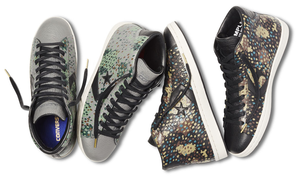 Converse Pro Leather Painted Camo Collection
