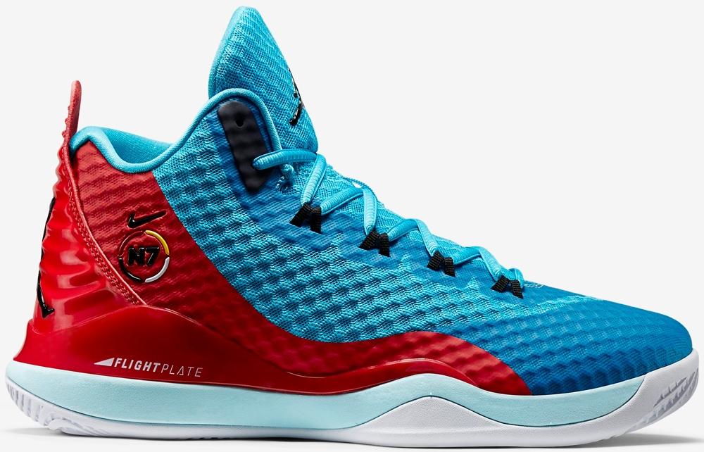 Jordan Super.Fly 3 PO N7 Black/Dark Turquoise-University Red-Ice Cube Blue