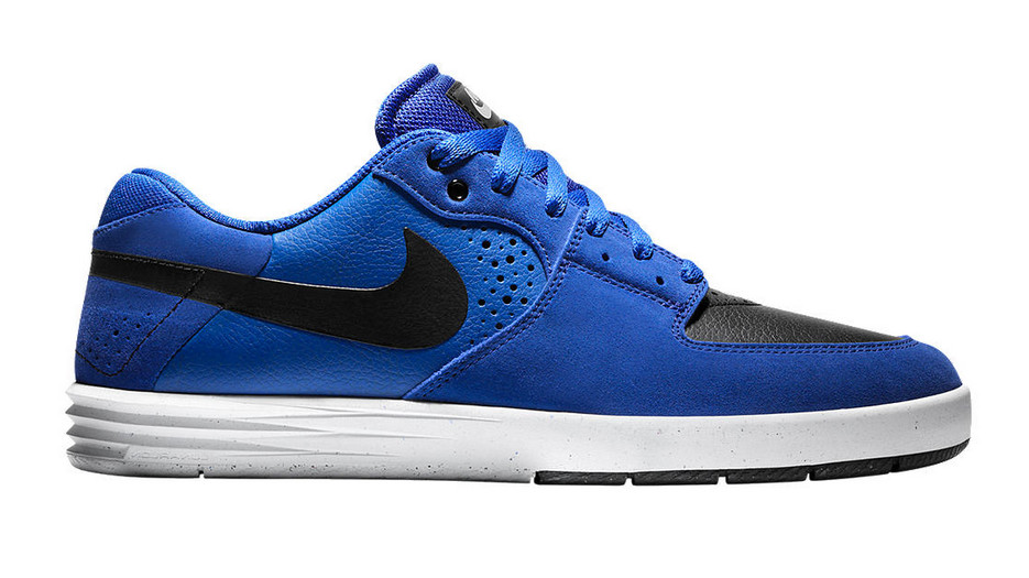 The Nike SB Paul Rodriguez 7 in Game Royal / Black / White is available now  at nike.com.