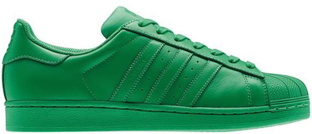 adidas Superstar Green/Green-Green