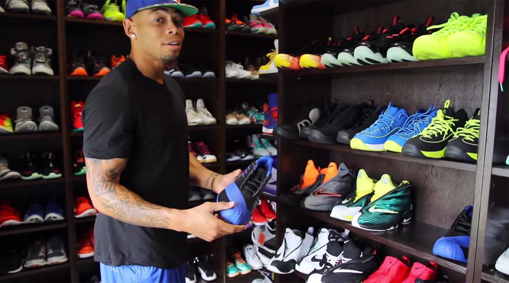 Joe Hadens Sneaker Closet
