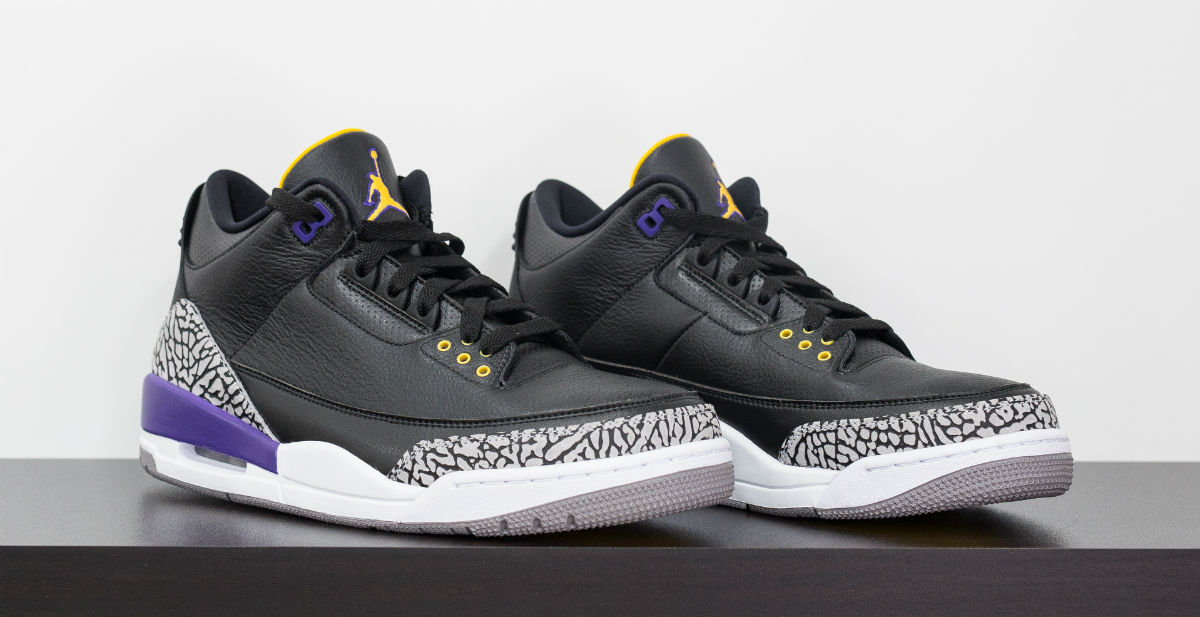 Kobe Bryant Air Jordan 3 Black (1)