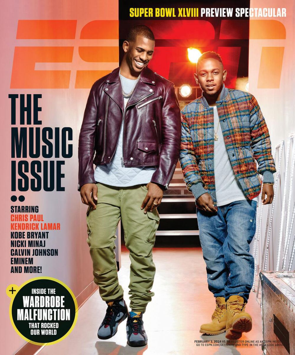 Chris Paul & Kendrick Lamar Cover ESPN The Magazine