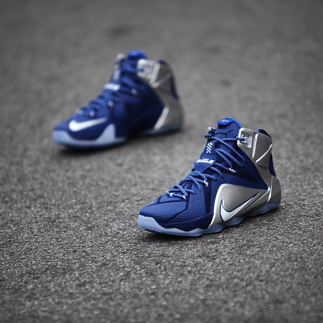 Nike LeBron XII 12 What If Dallas Cowboys 684593-410 (5)