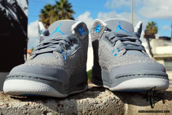 Air Jordan 3 Grey Blue