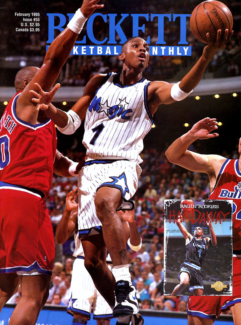 Penny Hardaway on the Cover of Beckett Basketball Monthly in the