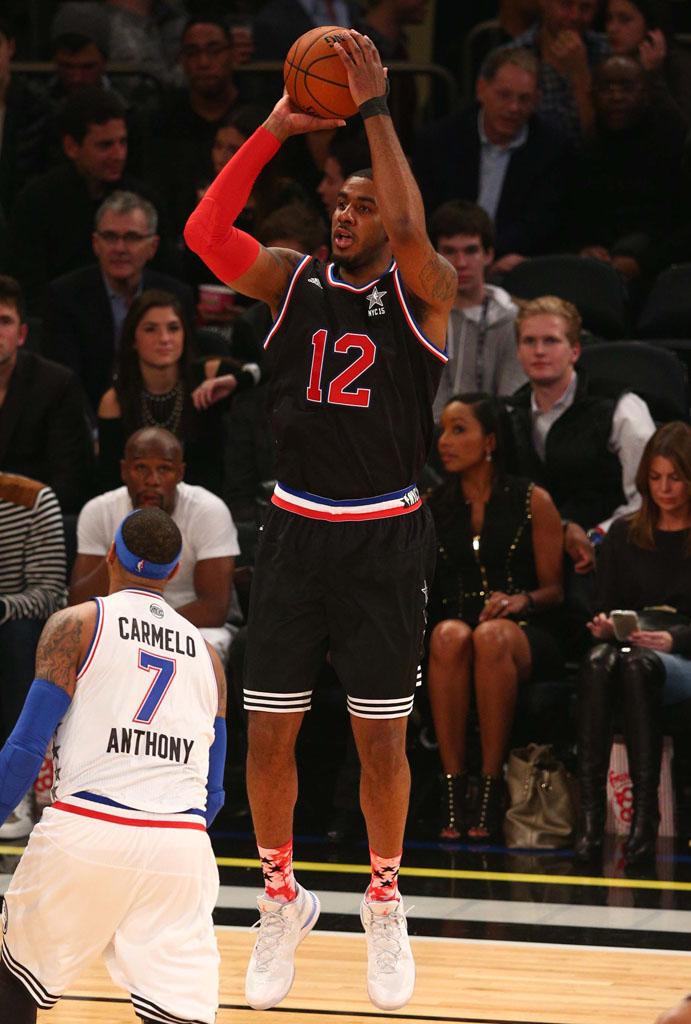 LaMarcus Aldridge wearing the 'All-Star' Jordan Super.Fly 3 (1