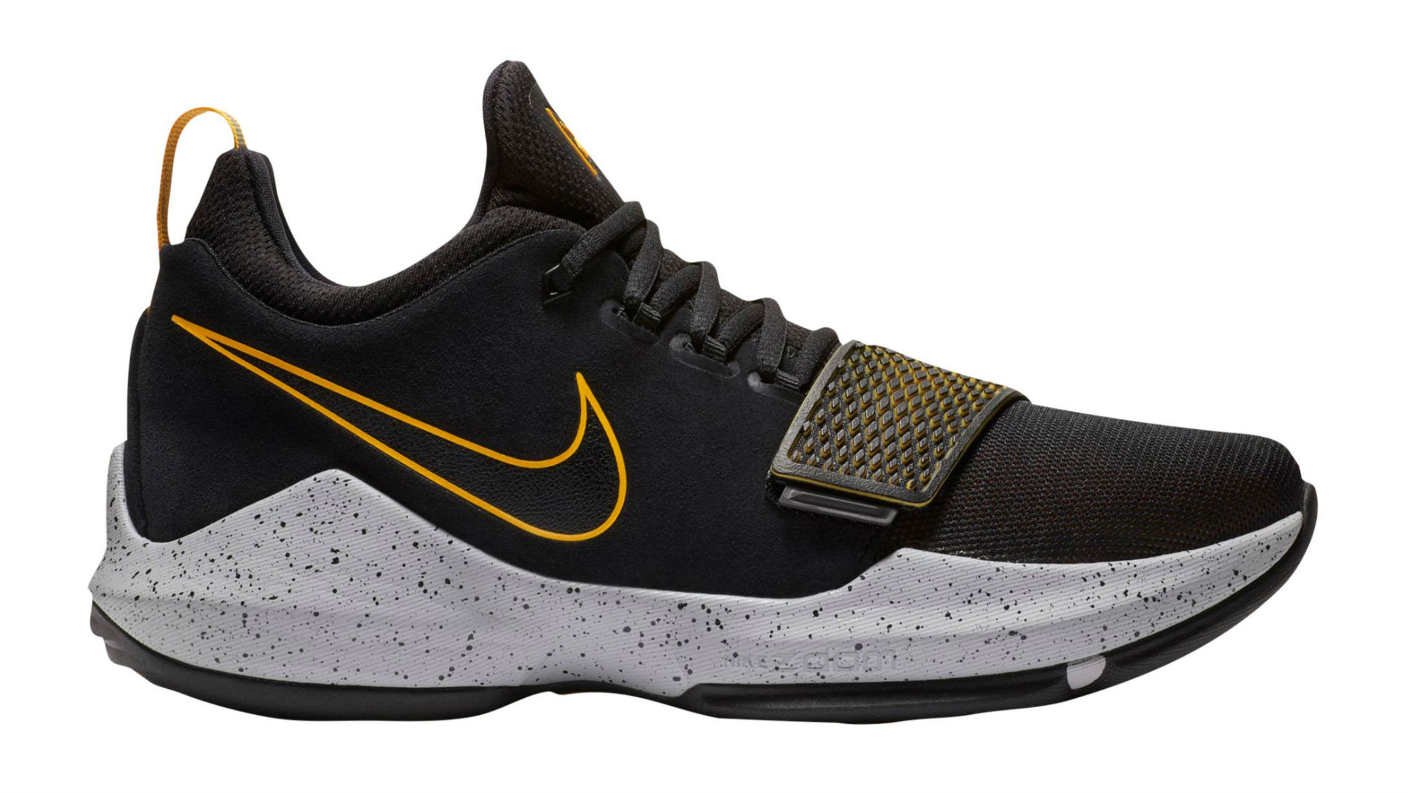 Nike PG 1 Black/University Gold-Wolf Grey