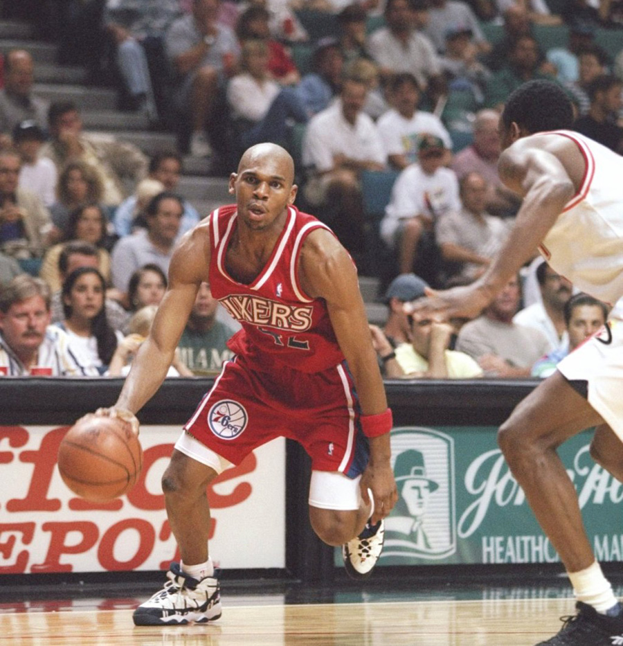 Throwback Jerry Stackhouse Wearing the Original Fila Stackhouse