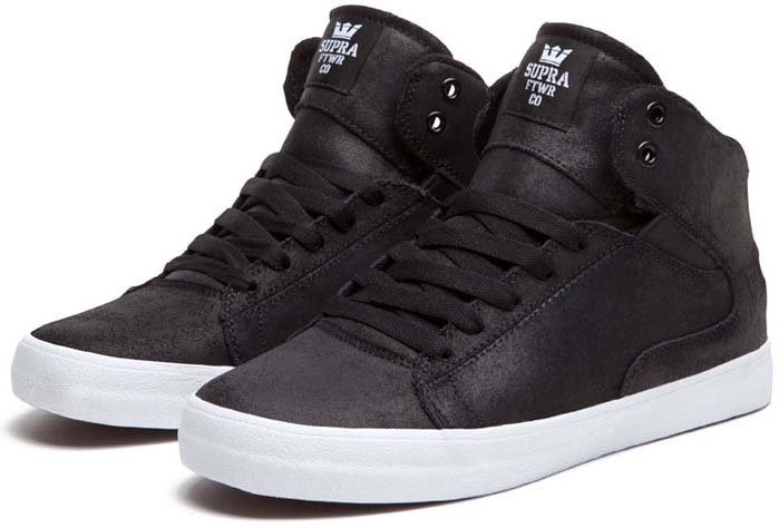 Supra Society Mid Shoes Terry Kennedy Black White (2) a7e3e72de103
