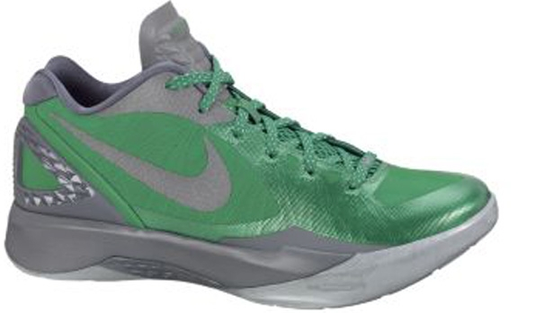 Nike Zoom Hyperdunk 2011 Low PE Lucky Green/Metallic Clover-Cool Grey