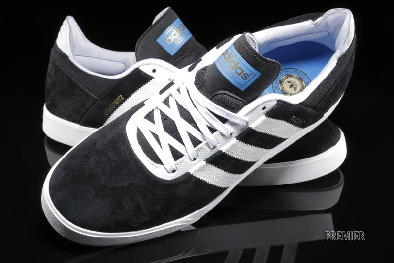 cheap for discount 40bc0 ac3cb Pick up this always-in-style black and white look now from select adidas  Skateboarding retailers like Premier.