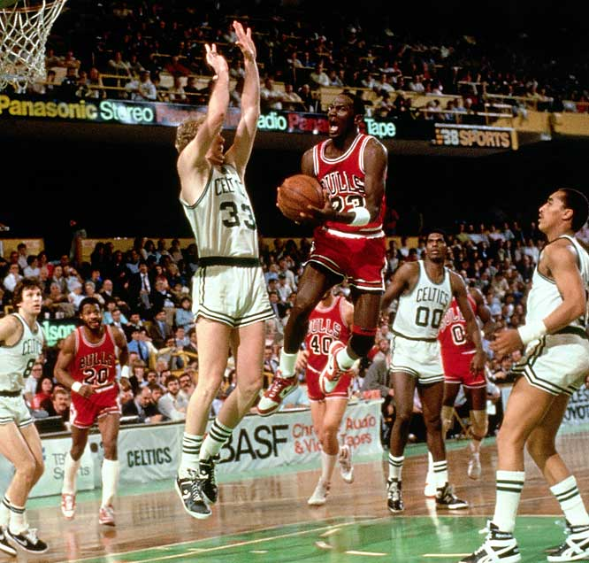 Michael Jordan Scores 63 Points in Game 2 Against the Boston Celtics