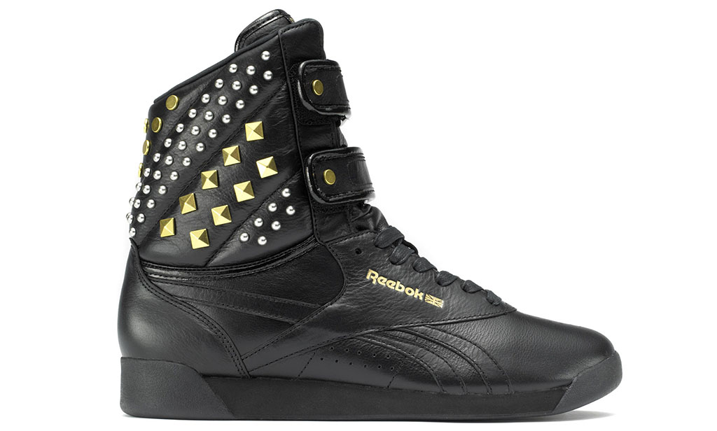 Alicia Keys x Reebok Classics Double Bubble Studs (2)