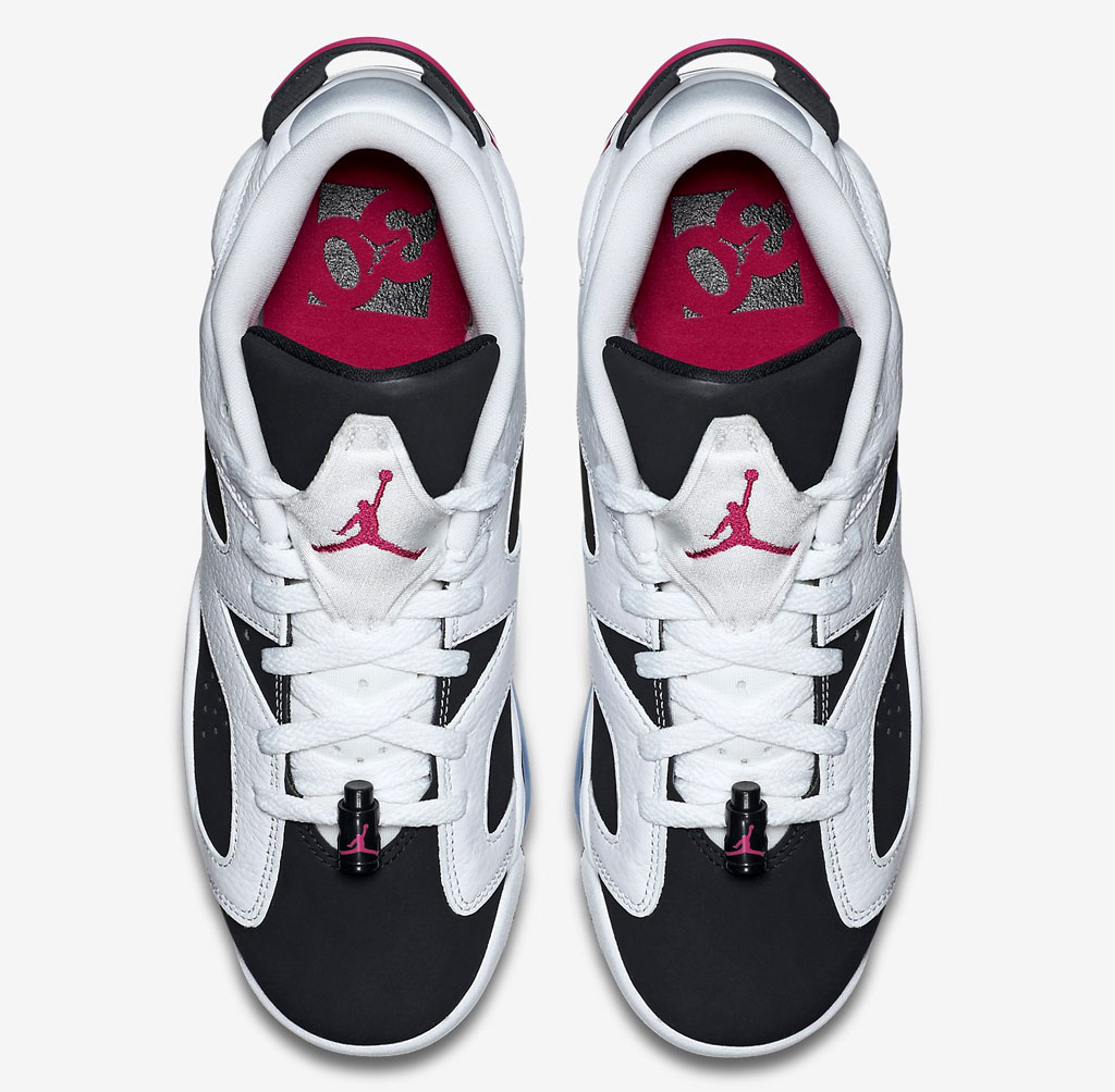 size 40 3aa45 10cd4 Air Jordan 6 Low Girls Fuchsia 768878-107 (4)