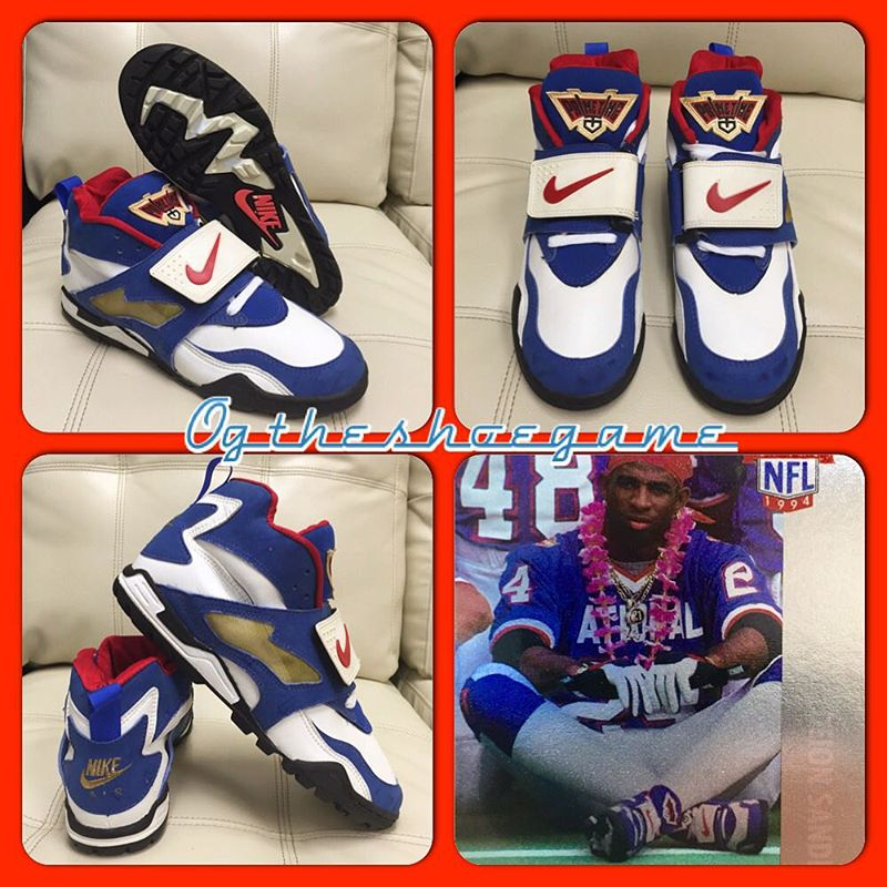 Deion Sanders\u0026#39; Nike Air Diamond Turf Pro Bowl PE (1)