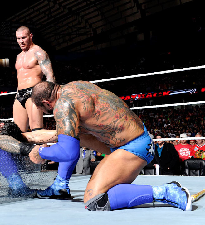 Batista Wears Blue Air Jordan XX8 (4)
